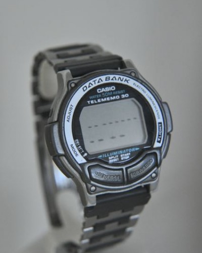 Replacing the battery in a Casio Databank 150